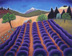Lavender Mountain